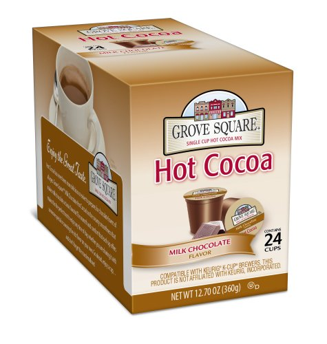 Grove Square Hot Cocoa Milk Chocolate 24 Count Single