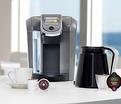 **New** Keurig 2.0 K550 Brewing System Coffee K-cup Maker + Filter + Carafe Inc Hot Coffee ...