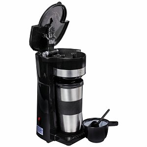Living Solutions Single Serve Coffee Maker Hot Coffee Pods cheap k-cups and coffeepods