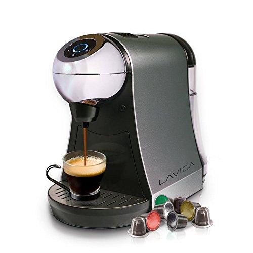 lavica single serve brewer for nespresso espresso tea. Black Bedroom Furniture Sets. Home Design Ideas