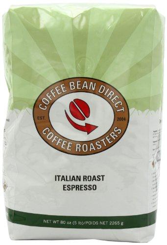 Coffee Bean Direct Italian Roast Espresso Whole Bean